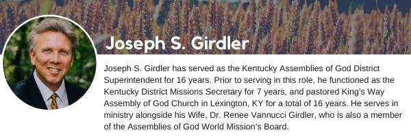 Joseph S. Girdler Bio